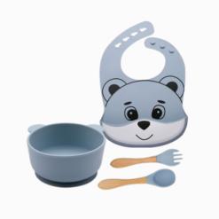Introdução Alimentar Kit Super Panda (4 peças)