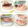 Loja Chiquititos Forma de Silicone com Tampa para Sobremesa Gelada para Crianças (1)