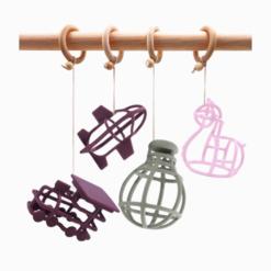 Brinquedo de Silicone para Bebê Formas Variadas