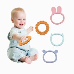 Mordedores de Silicone Pets Baby