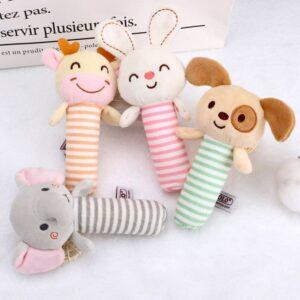 Loja Chiquititos Chocalho de Bichinhos de Pelúcia para Bebês