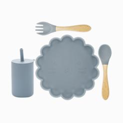 Introdução Alimentar Kit Leãozinho com Copo (4 peças)